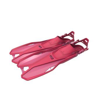 Tecnopro F6 C TRAVEL JR, dječje peraje, roza