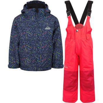 McKinley TIMBER II KDS + RAY, dječji skijaški komplet, plava