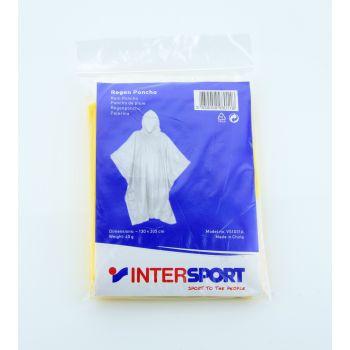 Intersport RAIN PONCHO, muška jakna za planinarenje, žuta