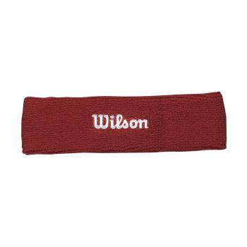 Wilson HEADBAND, znojnik teniski, crvena