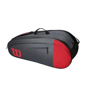 Wilson TEAM 6 PACK, torba, crvena
