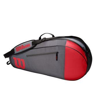 Wilson TEAM 3 PK, torba, crvena