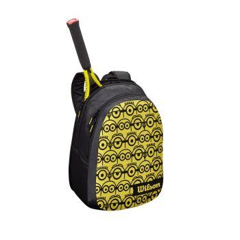 Wilson MINIONS JR BACKPACK, ruksak za tenis, crna