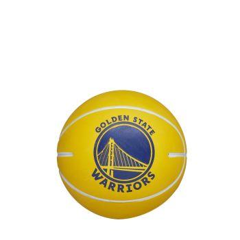 Wilson NBA DRIBBLER GOLDERN STATE WARRIORS, mini košarkaška lopta, žuta
