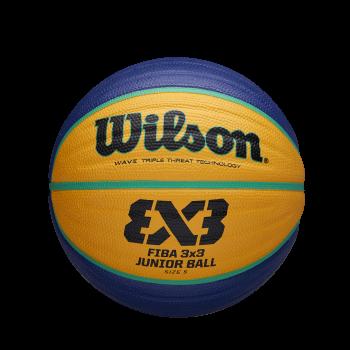 Wilson FIBA 3X3 REPLICA JUNIOR, košarkaška lopta, plava