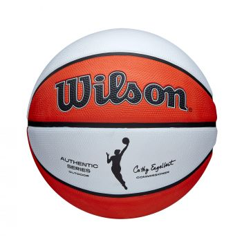 Wilson WNBA AUTH SERIES OUTDOOR, košarkaška lopta, narančasta