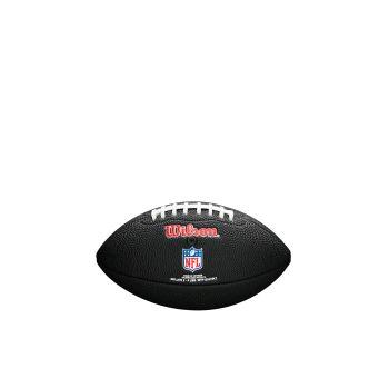Wilson NFL TEAM LOGO MINI - PATRIOTS, crna