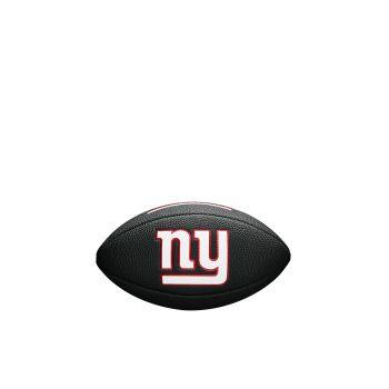 Wilson NFL TEAM LOGO MINI - GIANTS, crna