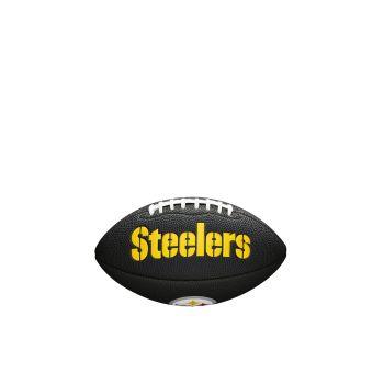 Wilson NFL TEAM LOGO - STEELERS, lopta za američki nogomet, crna