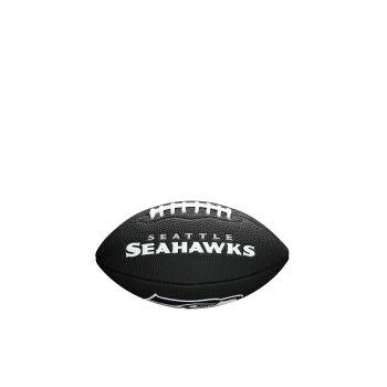Wilson NFL TEAM LOGO - SEA HAWKS, lopta za američki nogomet, crna