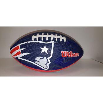 Wilson NFL TEAM LOGO - PATRIOTS, lopta za američki nogomet, plava
