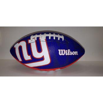 Wilson NFL TEAM LOGO - GIANTS, lopta za američki nogomet, plava