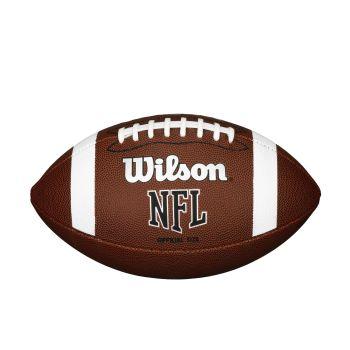 Wilson NFL OFFICIAL BULK, lopta za američki nogomet, smeđa