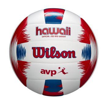 Wilson AVP HAWAII, lopta za odbojku, bijela