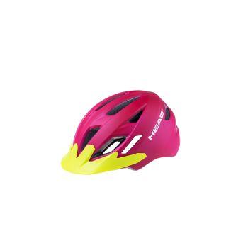 Head KID Y11A OUT-MOULD, dječja biciklistička kaciga, roza