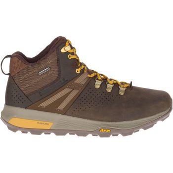 Merrell ZION PEAK MID WP, muške cipele za planinarenje, smeđa