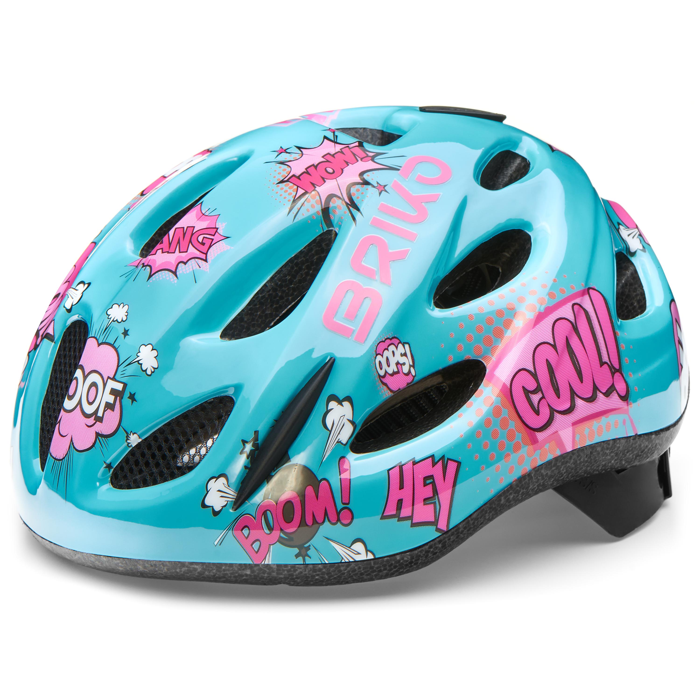 Briko PONY, dječja biciklistička kaciga, plava