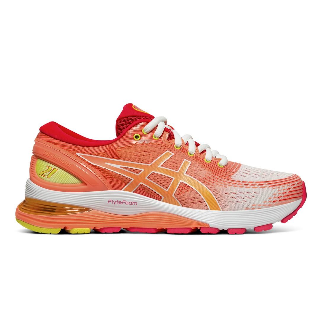 Asics GEL-NIMBUS 21 SHINE, ženske tenisice za trčanje, višebojno