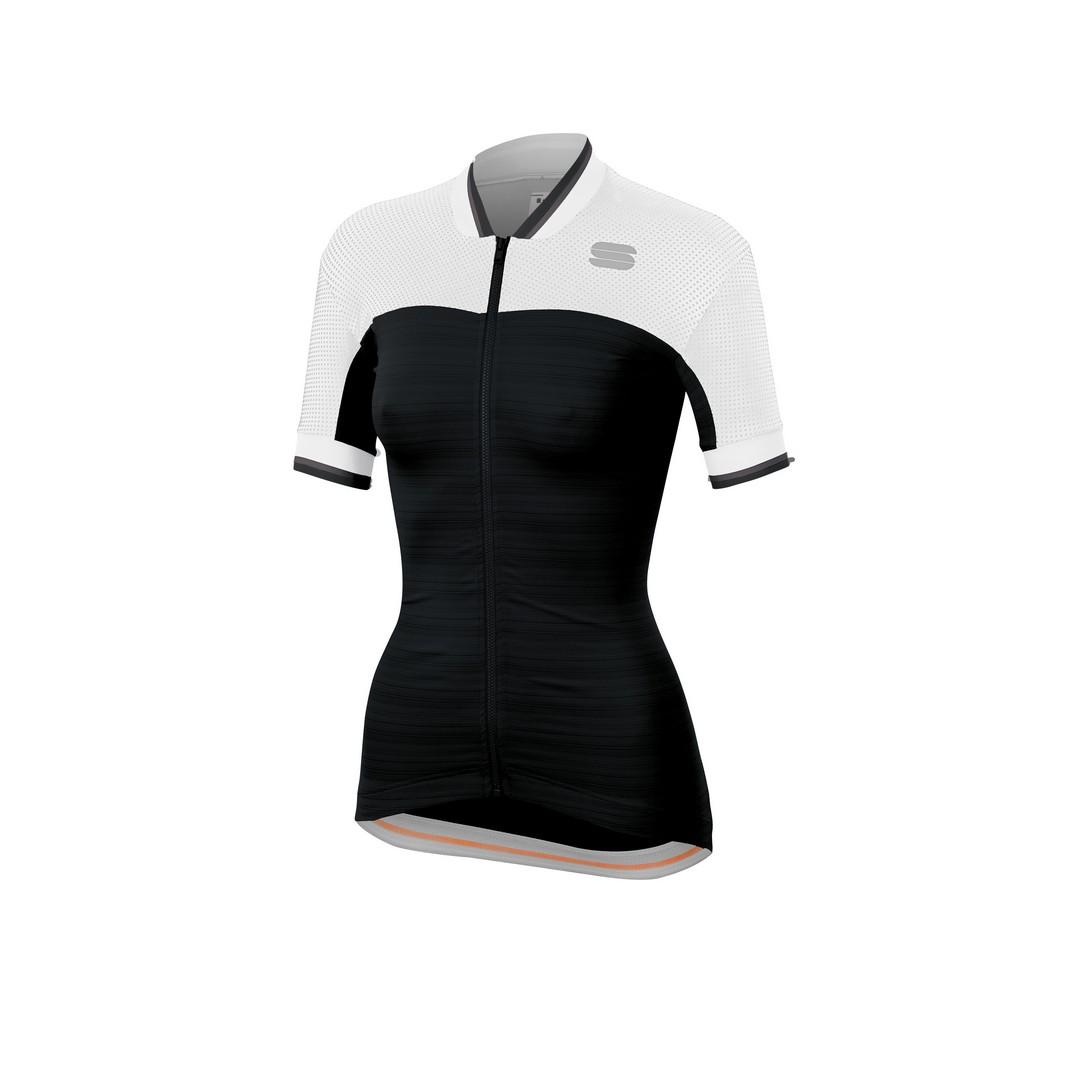 Sportful GRACE JERSEY, ženska majica za biciklizma, crna