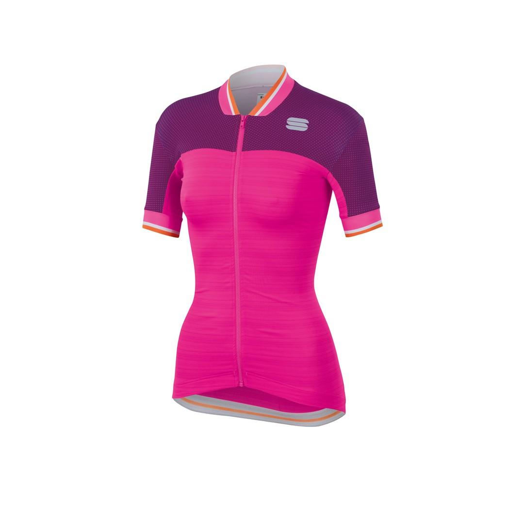 Sportful GRACE JERSEY, ženska majica za biciklizma, roza