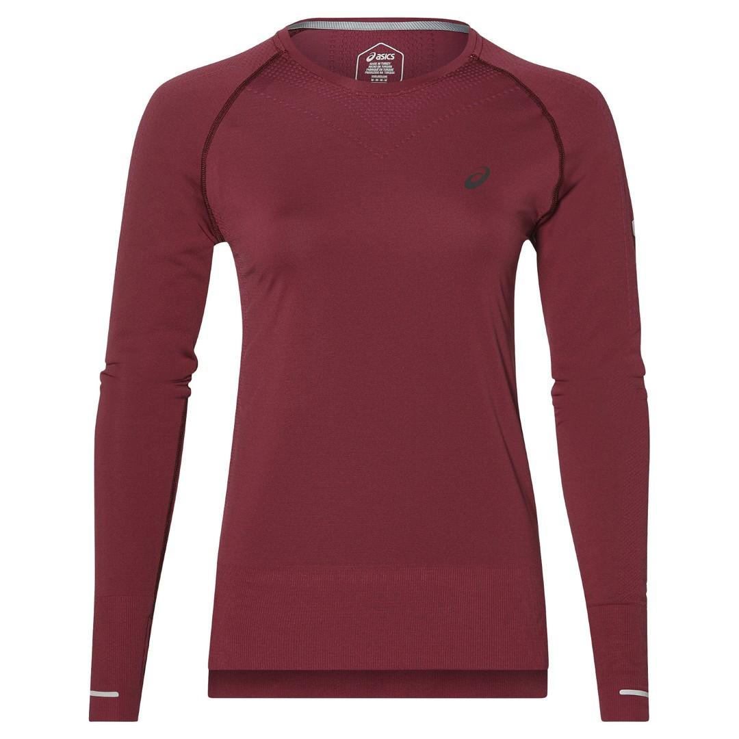 Asics SEAMLES LS, ženska majica za trčanje, ljubičasta