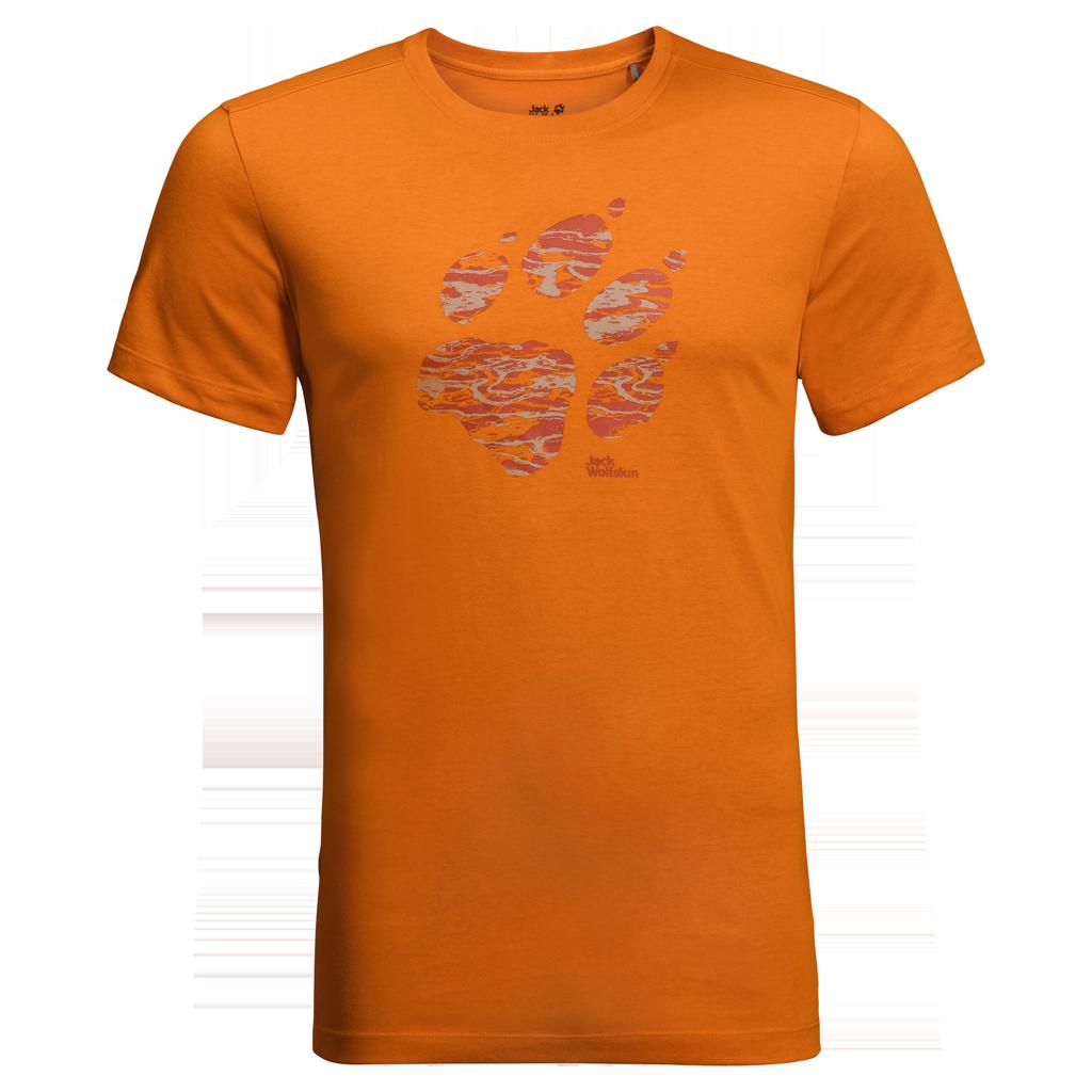 Jack Wolfskin PAW T, muška majica za planinarenje, narančasta