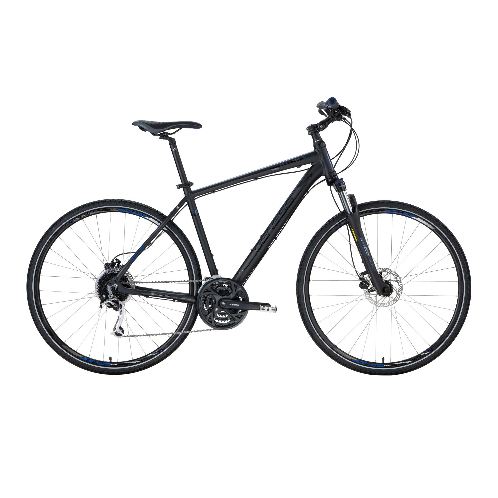 Genesis SPEED CROSS SX 4.9 LTD, muški treking bicikl, crna