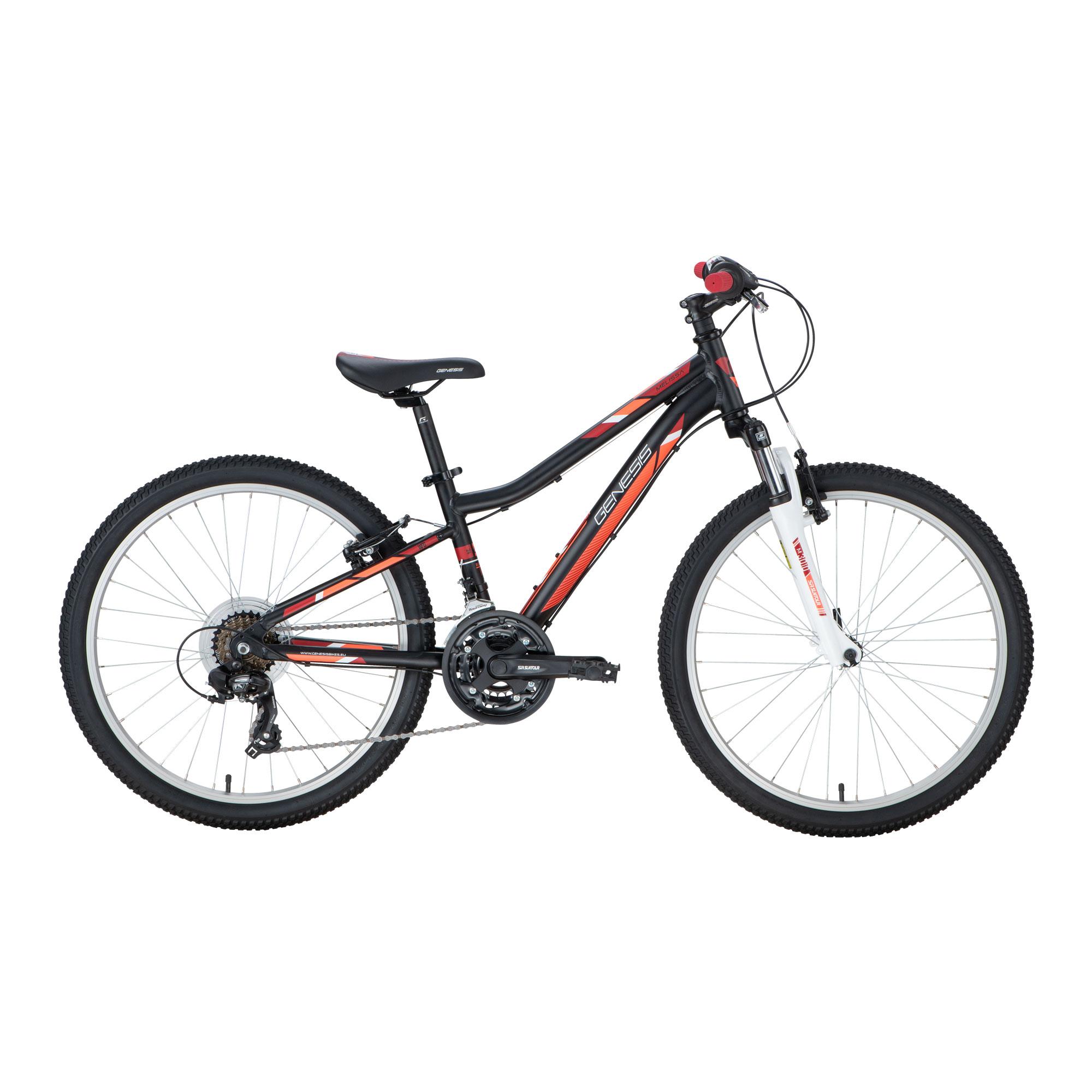Genesis MELISSA 24, dječji bicikl, crna