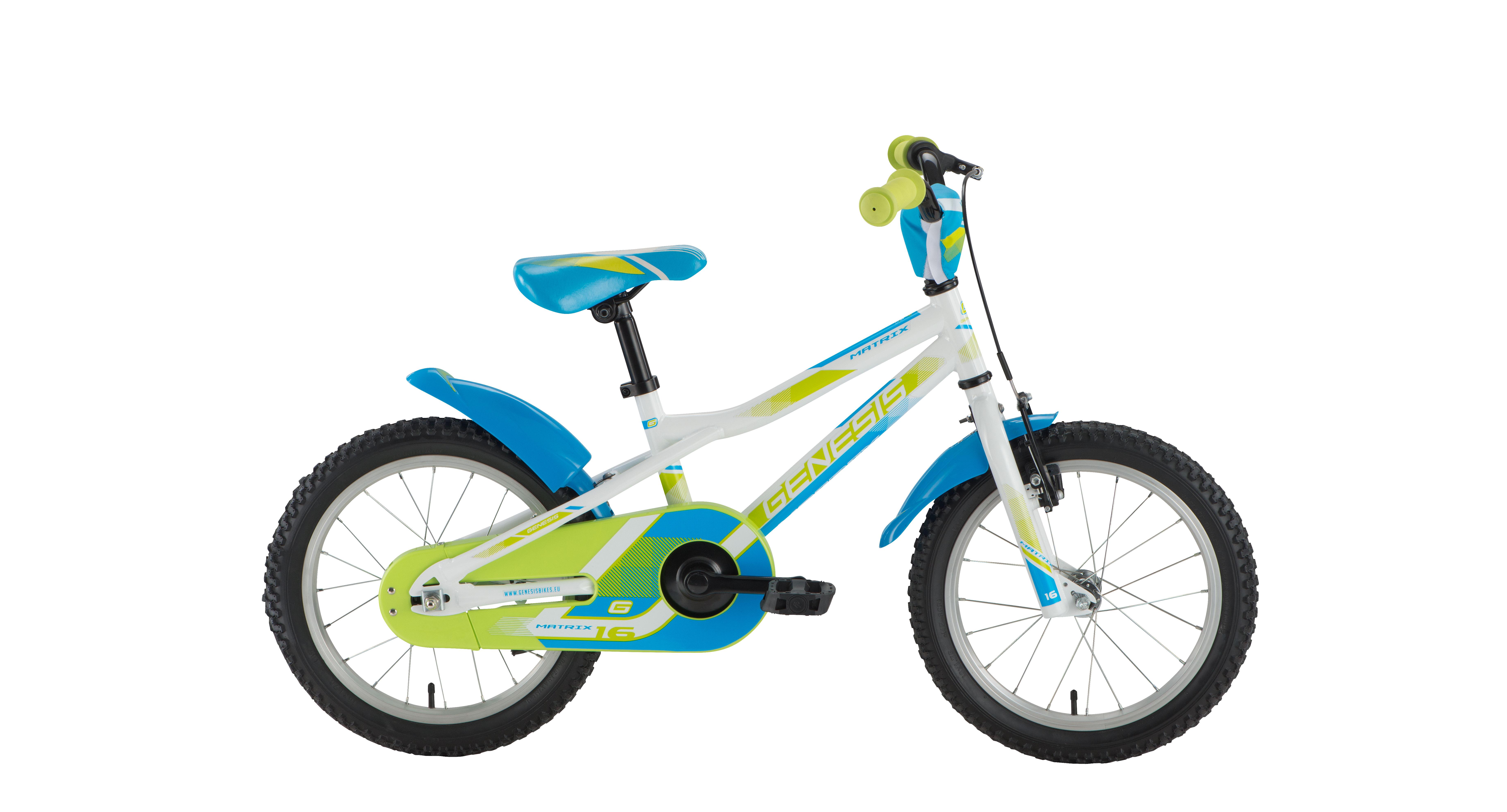 Genesis MATRIX 16, dječji bicikl, bijela