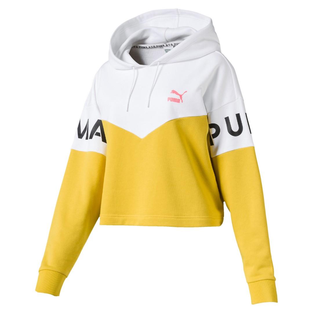 Puma XTG HOODY, ženski pulover, žuta