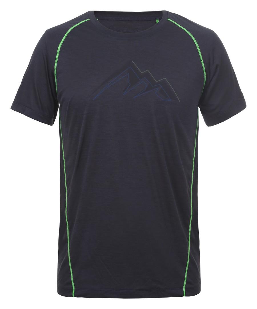 Icepeak DESTIN, muška majica za planinarenje, crna