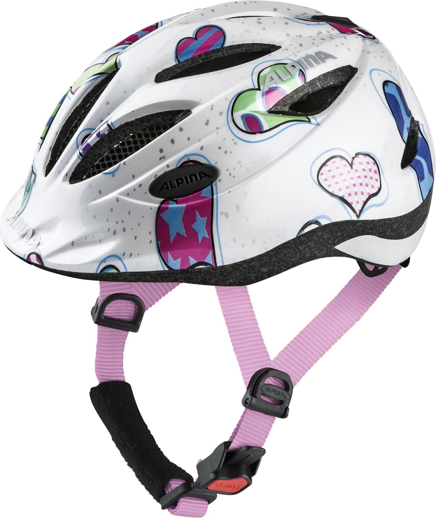 Alpina GAMMA 2.0, dječja biciklistička kaciga, bijela