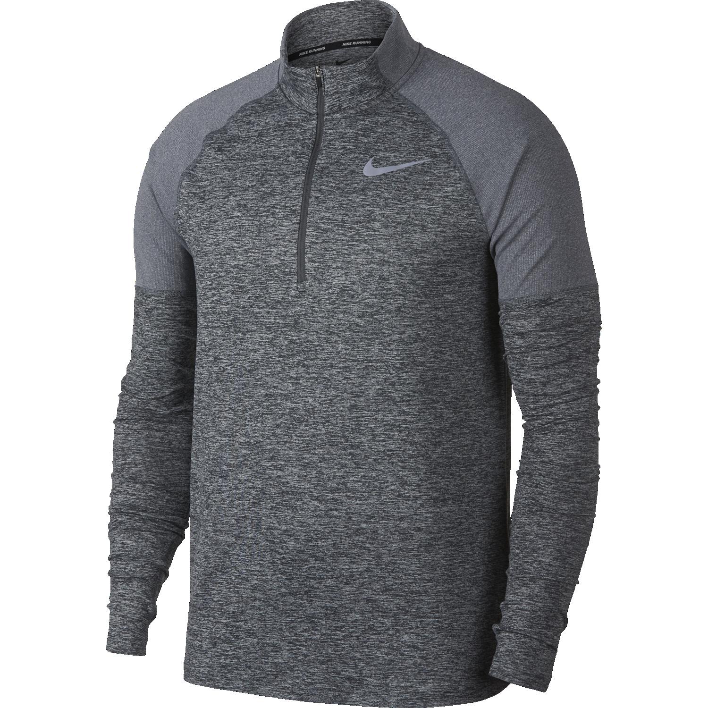 Nike M NK ELMNT TOP HZ 2.0, muški puli za trčanje, siva