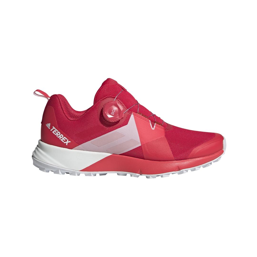 adidas TERREX TWO BOA W, ženske tenisice za trčanje, crvena
