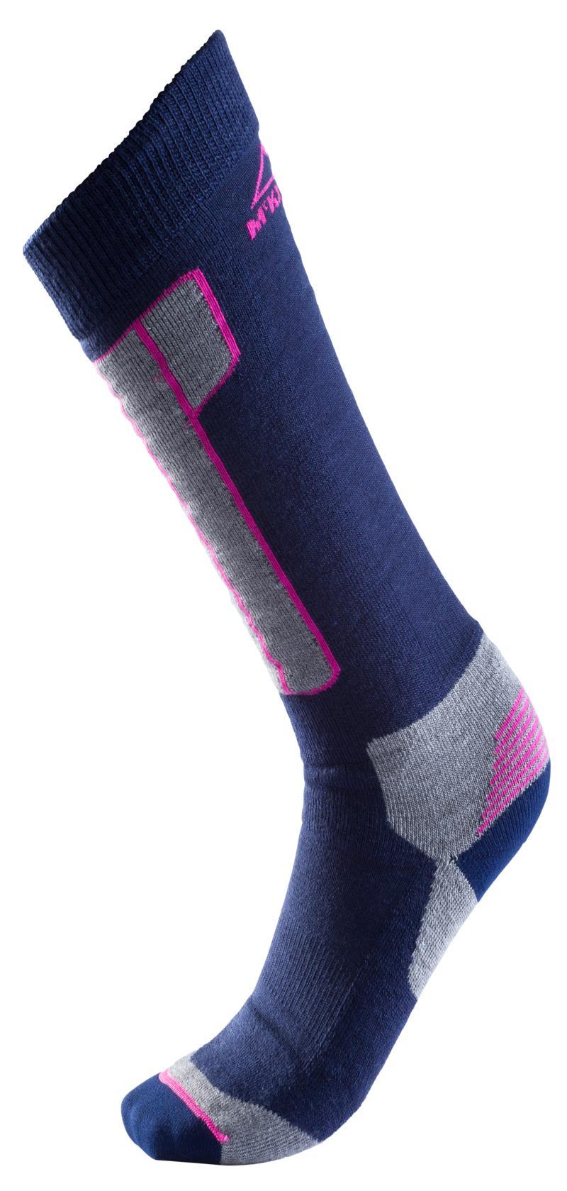 McKinley BEMY II UX, muške skijaške čarape, plava