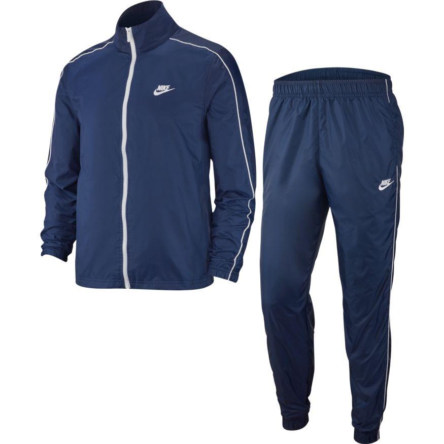 Nike M NSW CE TRK SUIT WVN BASIC, muška trenirka, plava