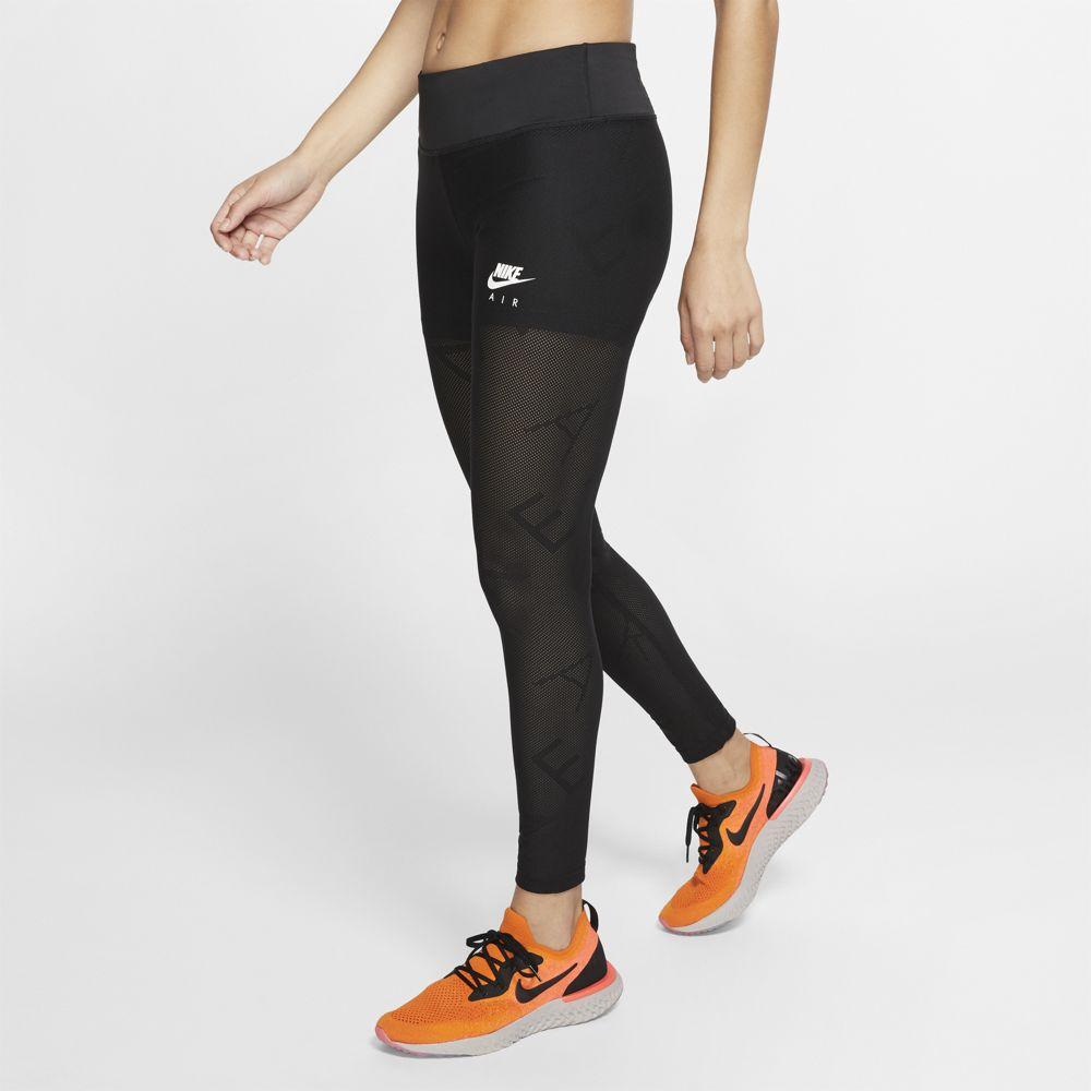Nike W NK 7_8 TGHT AIR MESH, ženske tajice za trčanje, crna