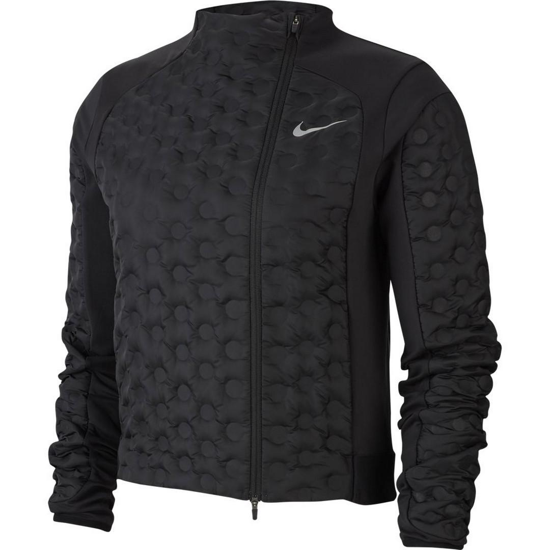 Nike W NK AROLFT JKT, ženska jakna za trčanje, crna