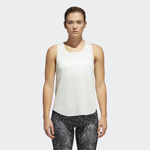 adidas TKO COOL TANK W, ženska majica za trčanje, zelena