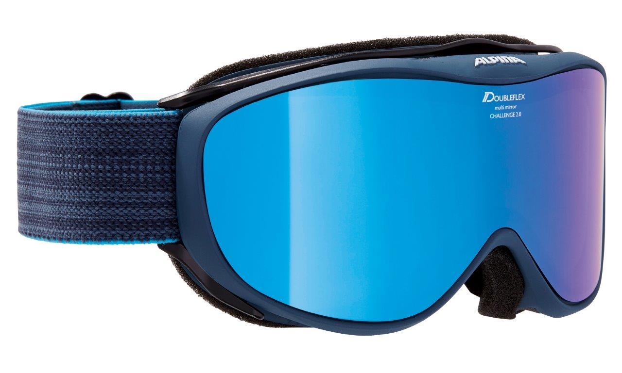 Alpina CHALLENGE 2.0 MM, skijaške naočale, plava