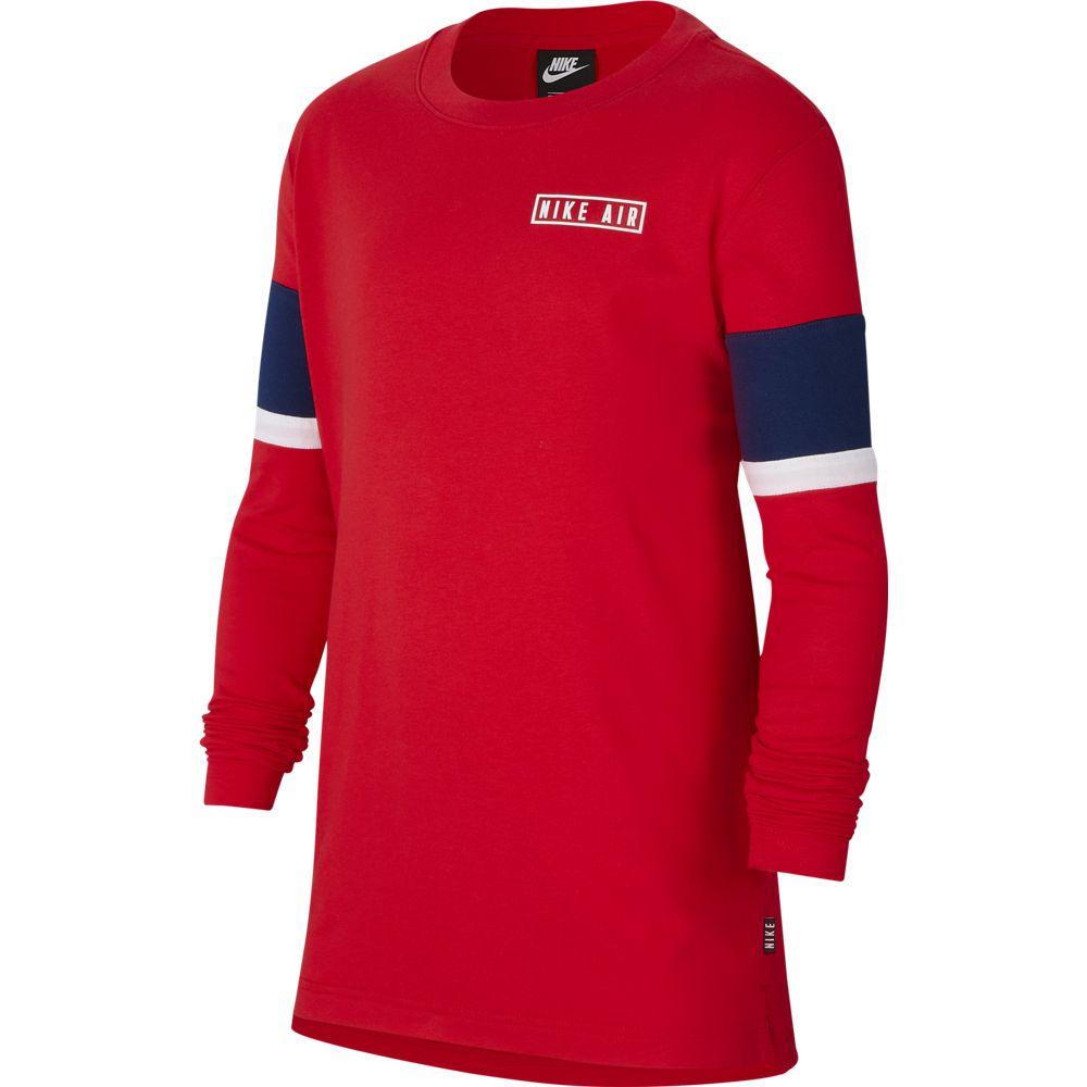 Nike B NIKE AIR TOP LS, majica, crvena
