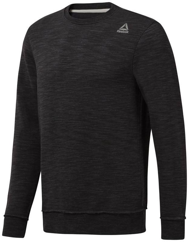 Reebok CY4872, muški pulover, crna