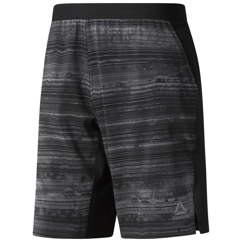 Reebok CY4898, muške fitnes hlače, crna