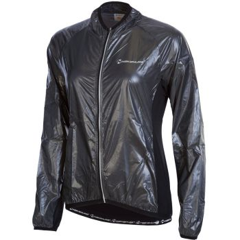 Nakamura GIACCA JACKET, ženska jakna za biciklizam, siva