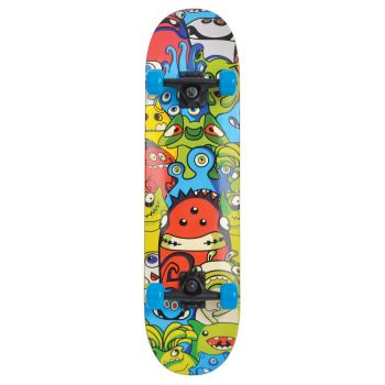 Schildkroet SLIDER MONSTERS, skateboard, višebojno