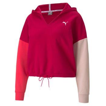 Puma MODERN SPORTS HOODIE, ženski pulover, crvena