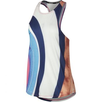 Nike W NK TANK EVA, ženska majica za trčanje, višebojno