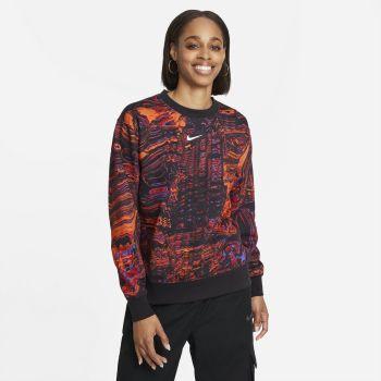 Nike SPORTSWEAR DANCE FLEECE CREW, ženska košulja, crna