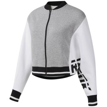 Reebok WOR MYT TS TOP, ženska jakna za fitnes, siva
