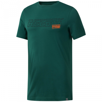 Reebok GS FOUNDATION TEE, majica, zelena